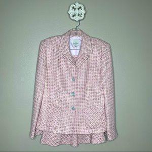 Anne Klein 2 Tweed Skirt Set